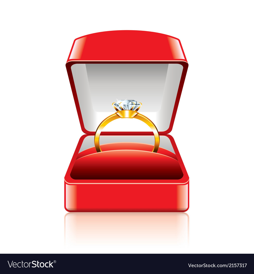 Object ring box vector | Price: 1 Credit (USD $1)