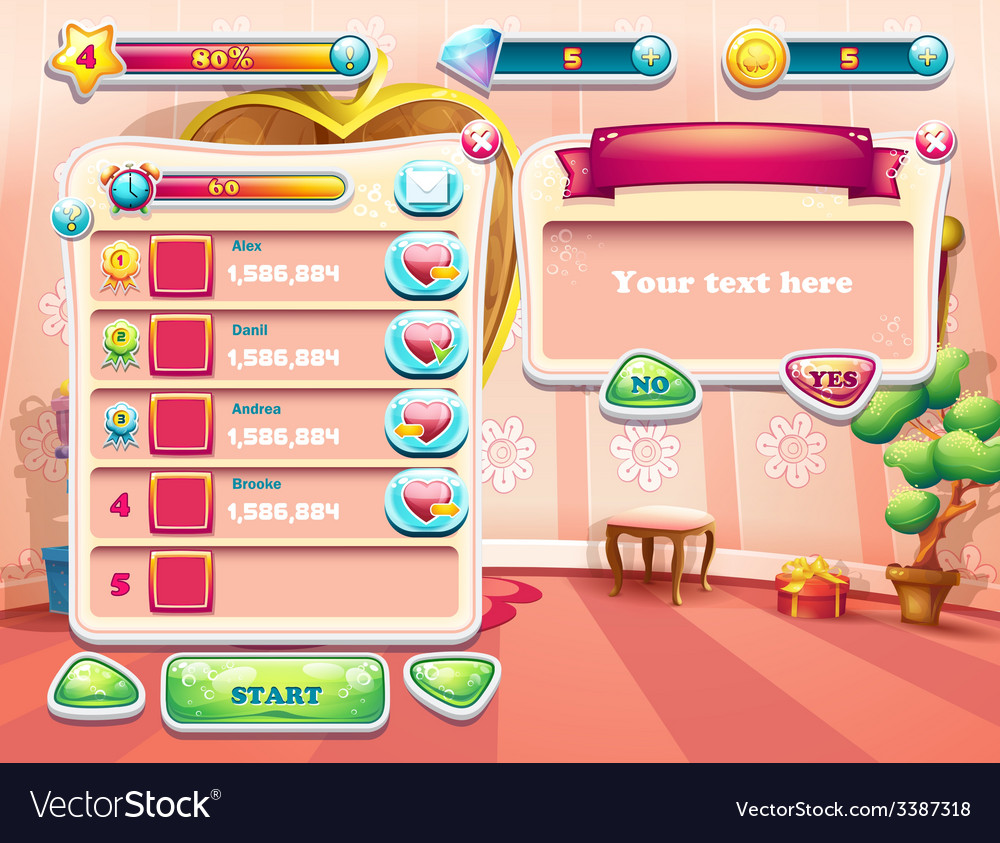 An example of one of the screens of the computer vector   Price: 1 Credit (USD $1)