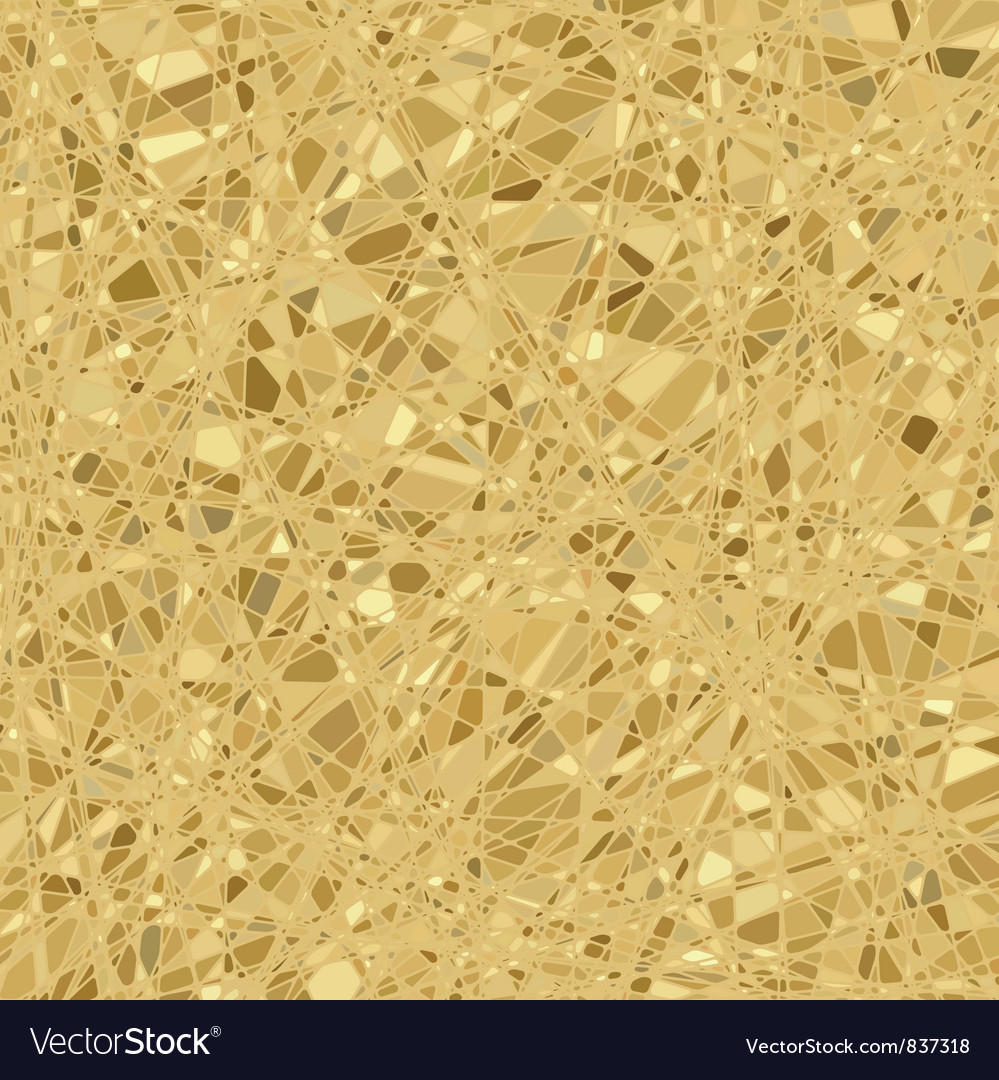 Gold mosaic background vector | Price: 1 Credit (USD $1)
