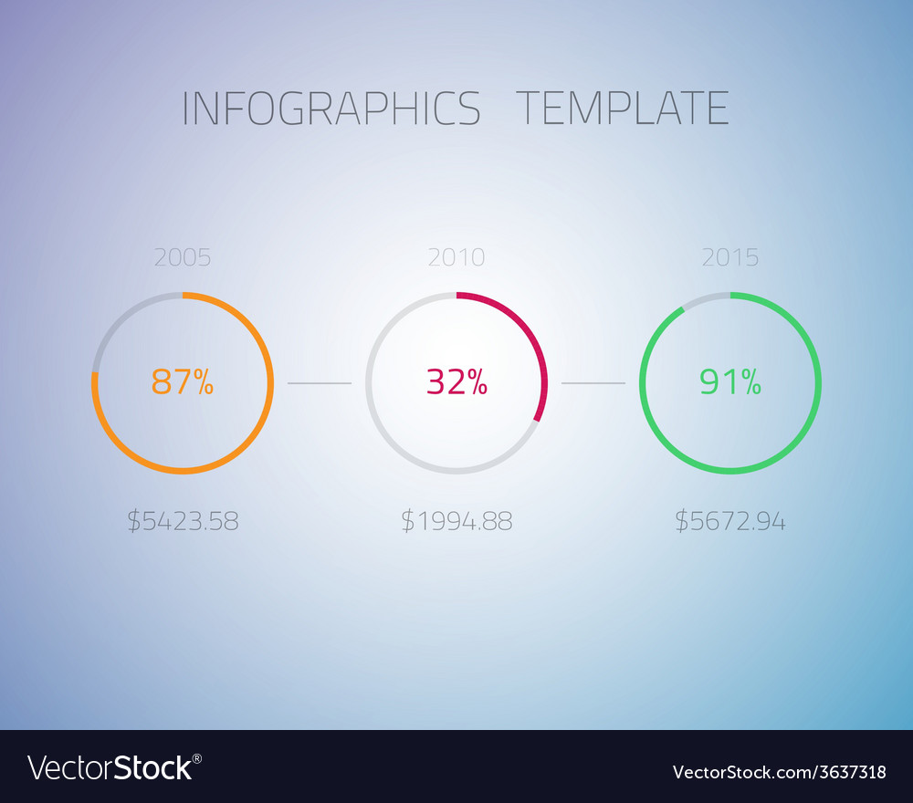 Web infographic timeline pie template layout with vector   Price: 1 Credit (USD $1)