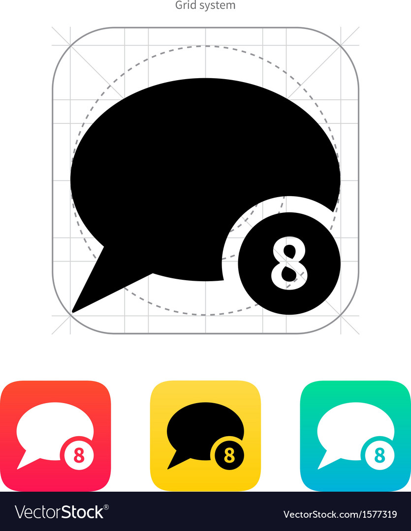 Number of message icon vector | Price: 1 Credit (USD $1)