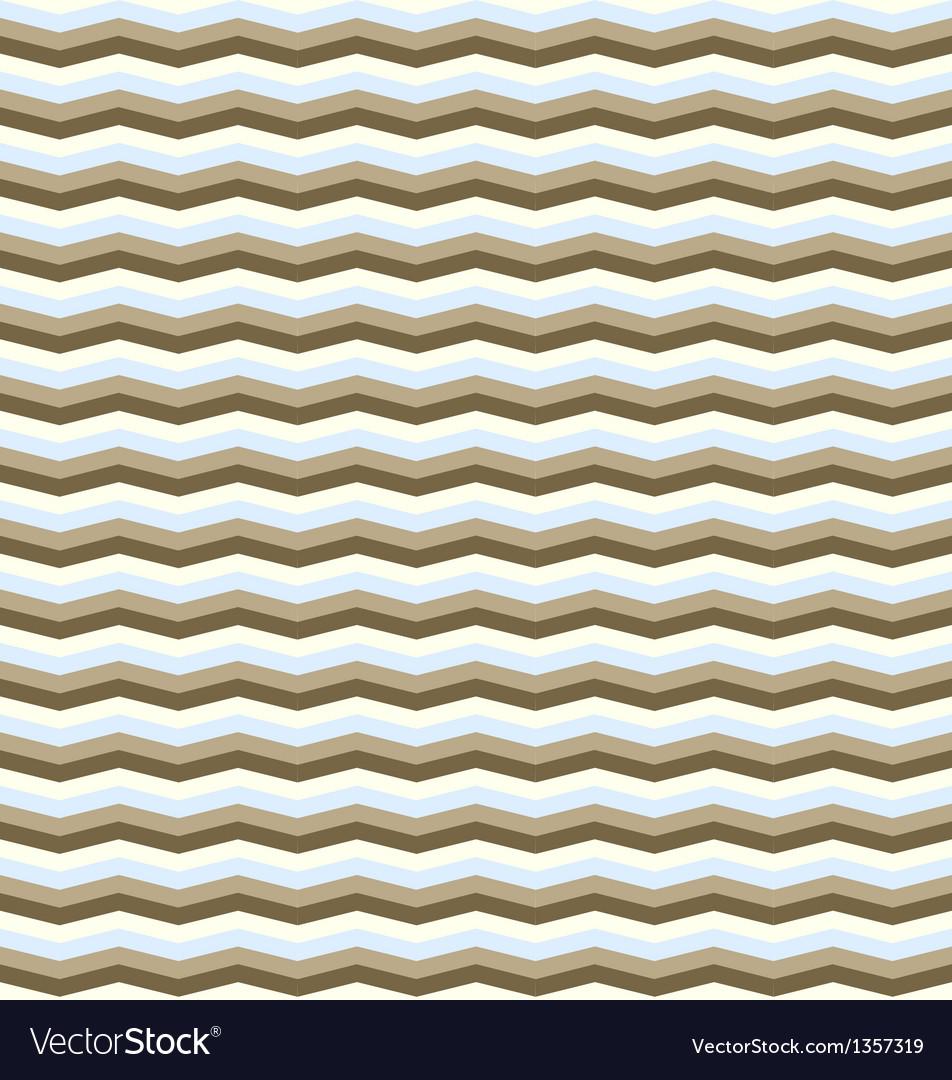 Seamless chevron pattern in retro style vector   Price: 1 Credit (USD $1)
