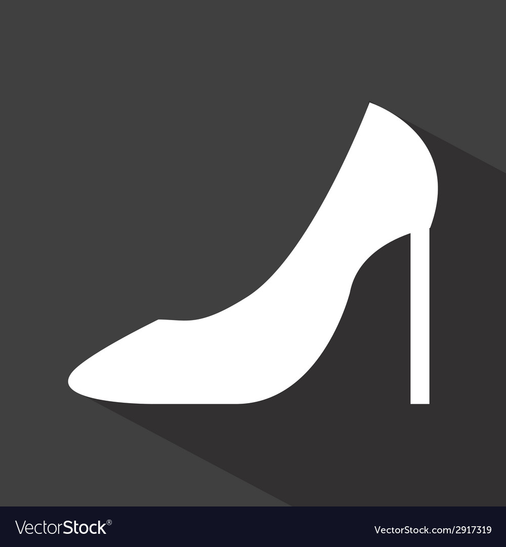 Shoes woman design vector | Price: 1 Credit (USD $1)