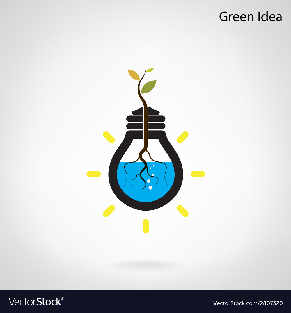Green and initiative concept vector | Price: 1 Credit (USD $1)