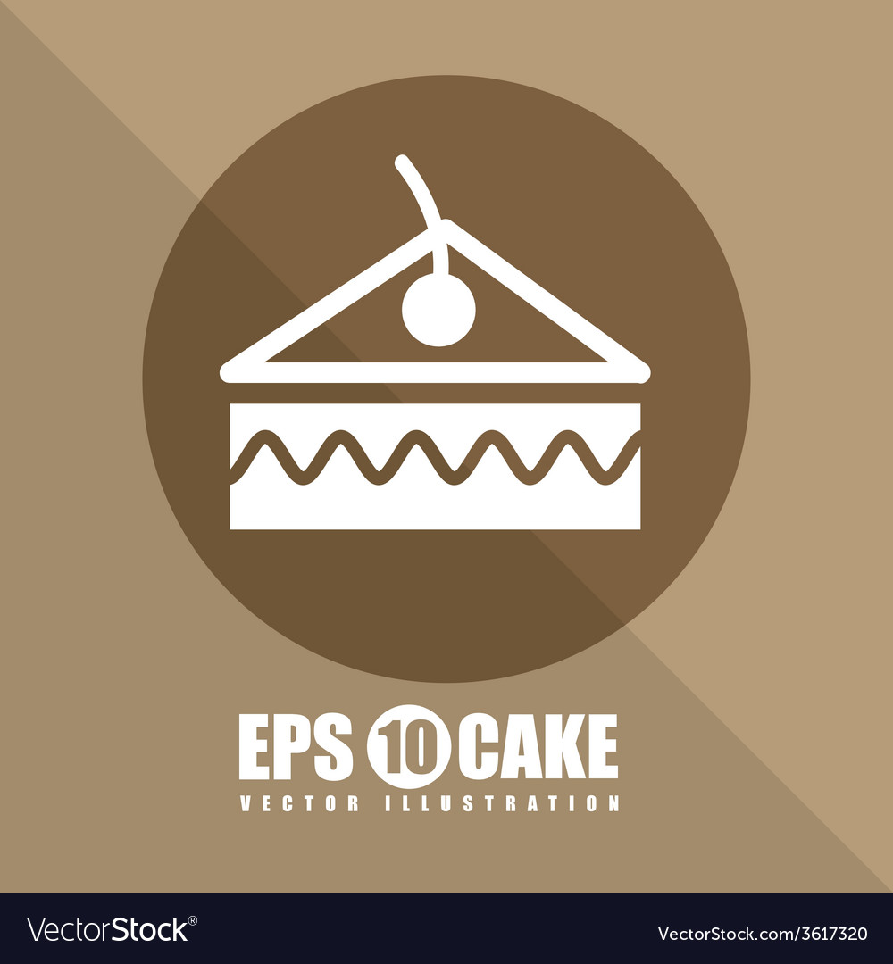 Pastry icon vector   Price: 1 Credit (USD $1)