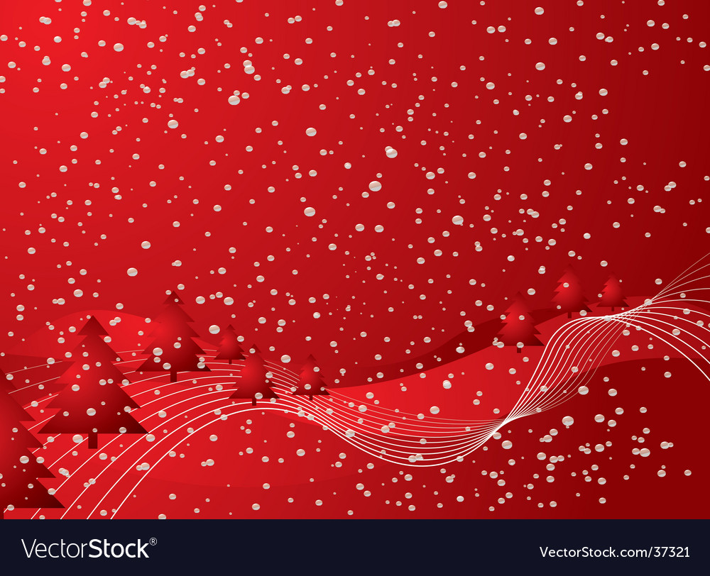 Christmas tree abstract vector | Price: 1 Credit (USD $1)