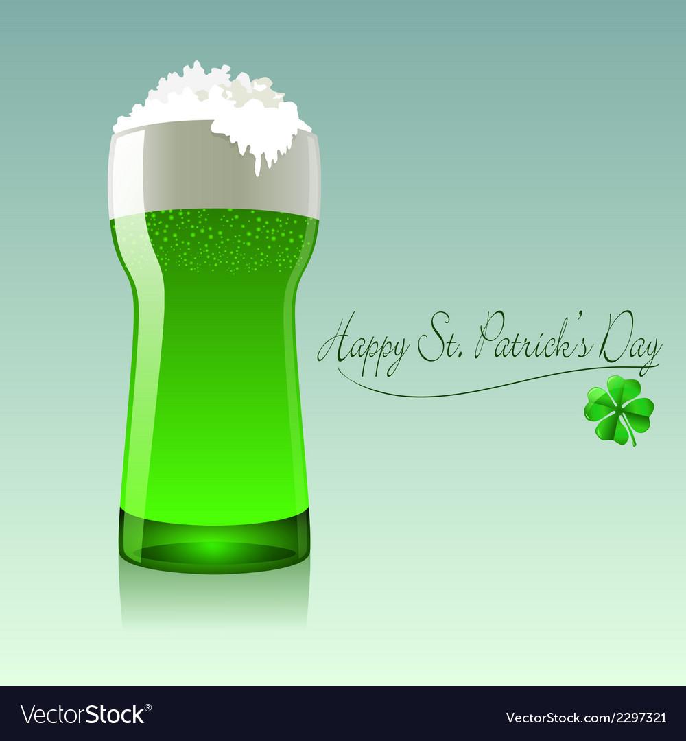 Happy st patricks day vector | Price: 1 Credit (USD $1)