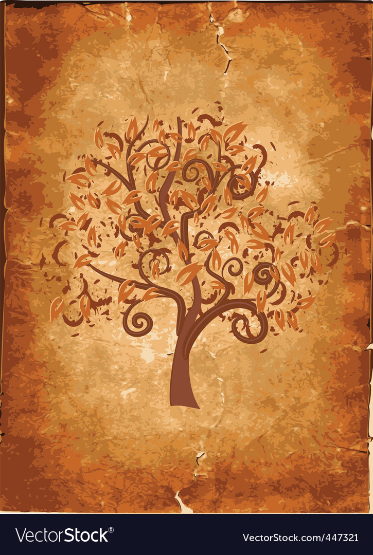 Old grunge paper with wood vector | Price: 1 Credit (USD $1)