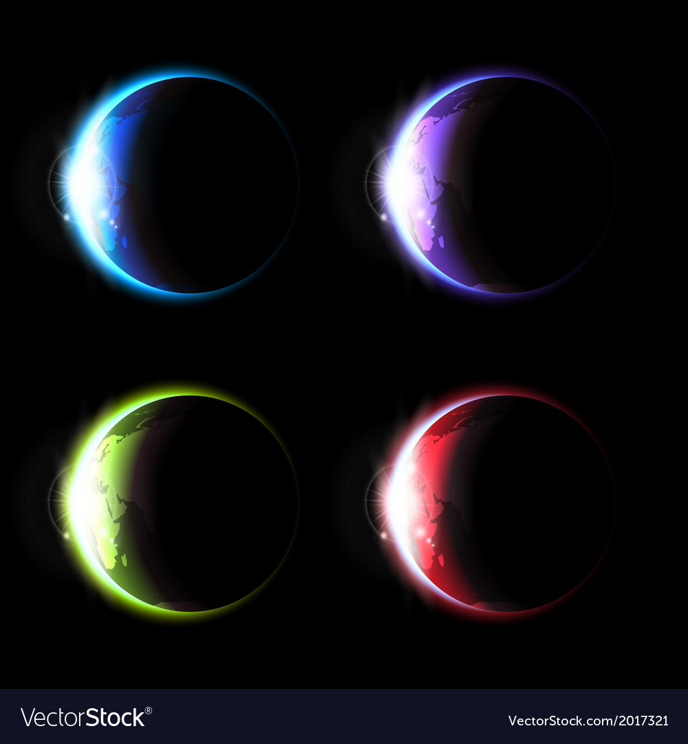 Planets set vector | Price: 1 Credit (USD $1)