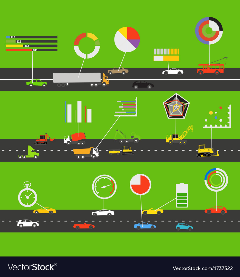 Transportation scheme vector | Price: 1 Credit (USD $1)