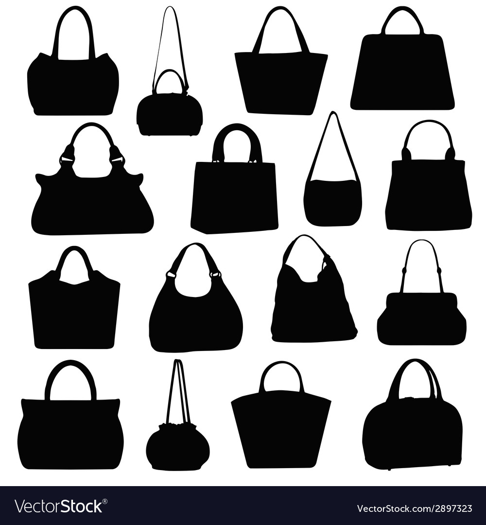 Handbags vector | Price: 1 Credit (USD $1)