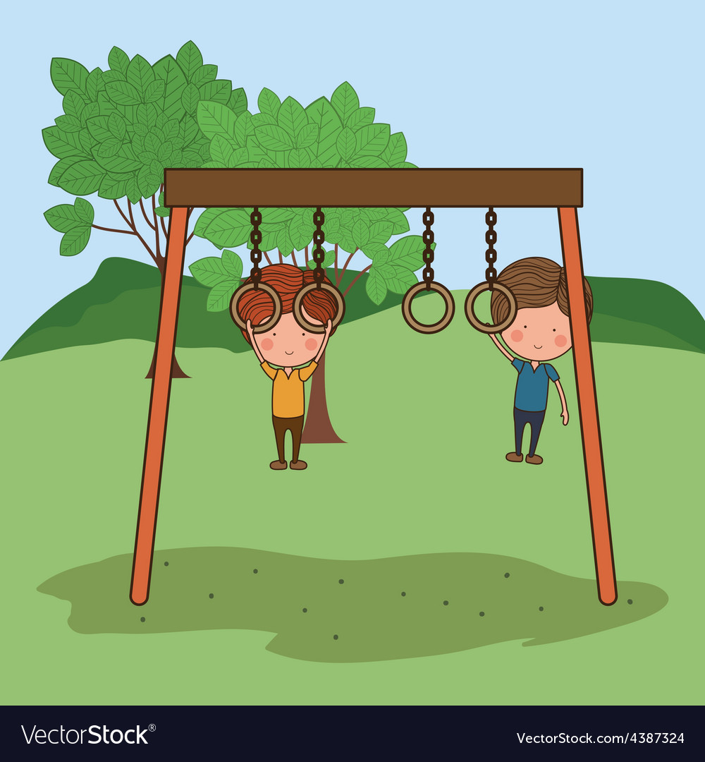 Playground design vector | Price: 1 Credit (USD $1)