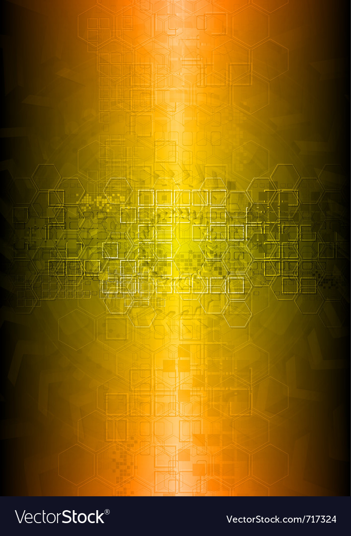 Vibrant technical abstraction vector | Price: 1 Credit (USD $1)