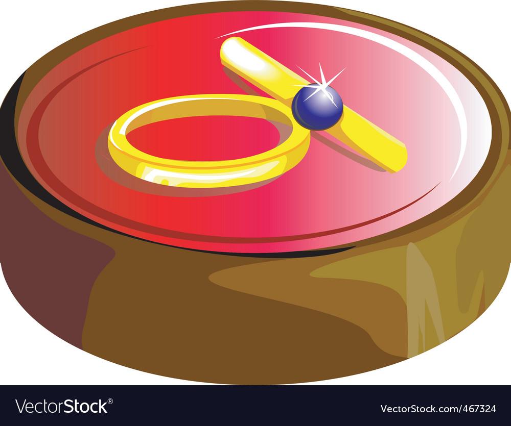 Wedding ring vector | Price: 1 Credit (USD $1)