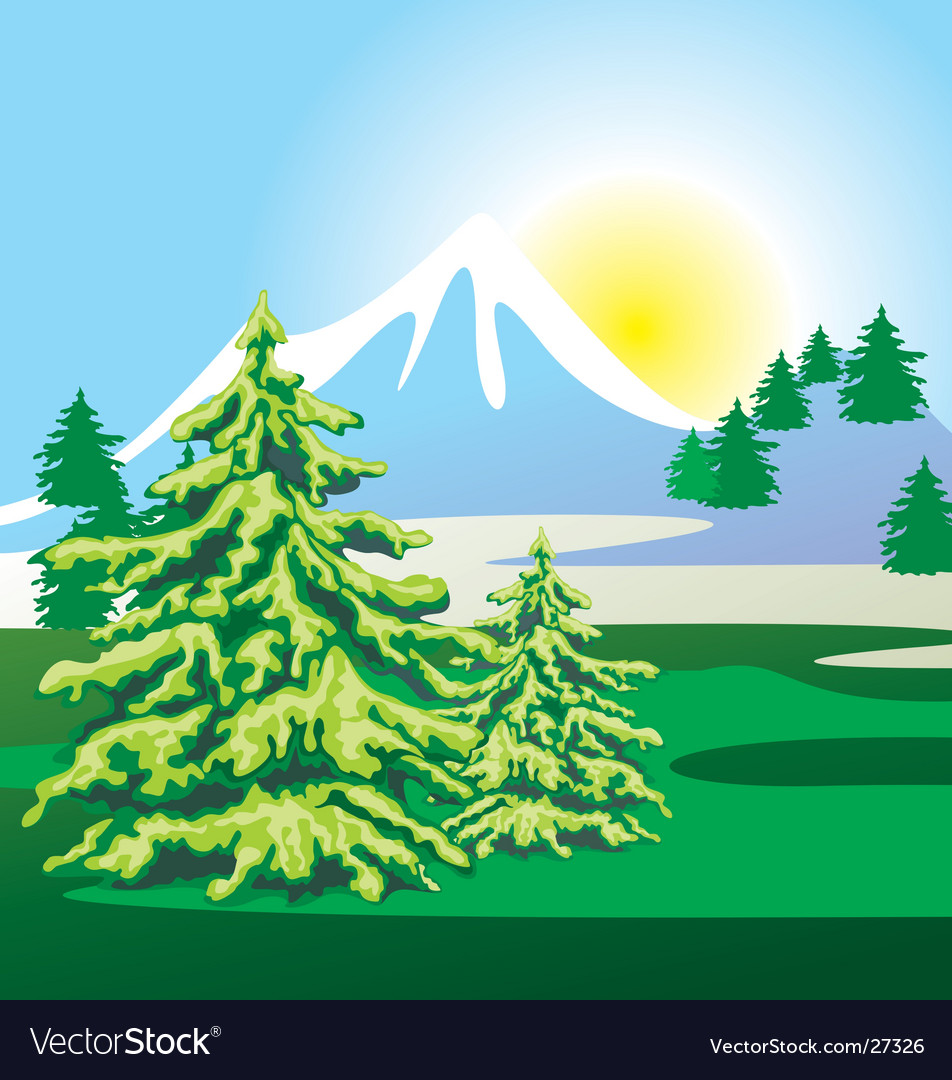 02 landscape vector | Price: 1 Credit (USD $1)