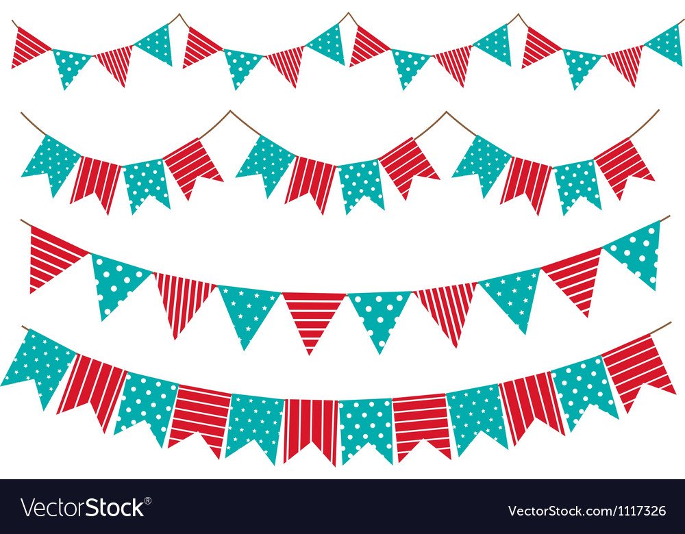 Garland decoration vector | Price: 1 Credit (USD $1)