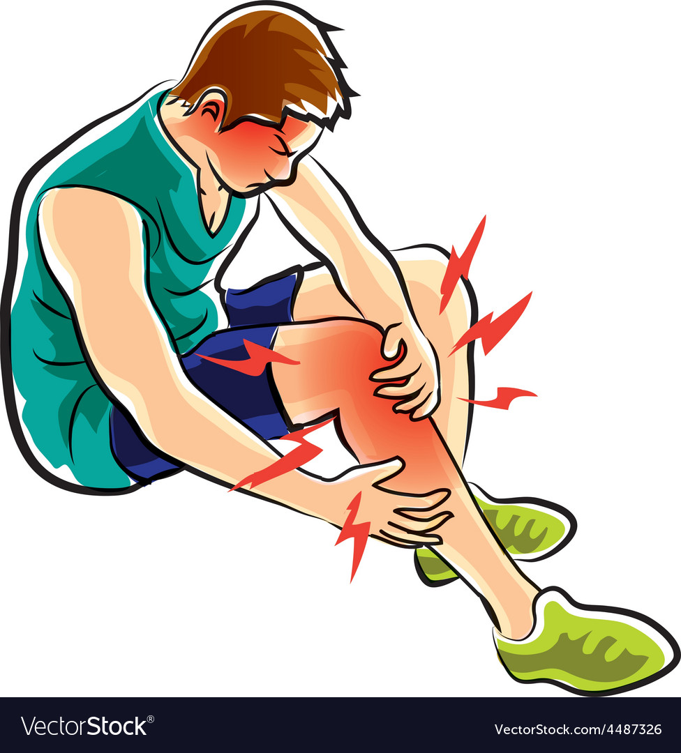 Leg ache vector | Price: 1 Credit (USD $1)
