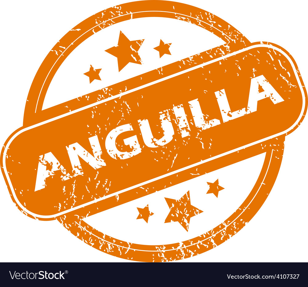 Anguilla grunge icon vector | Price: 1 Credit (USD $1)
