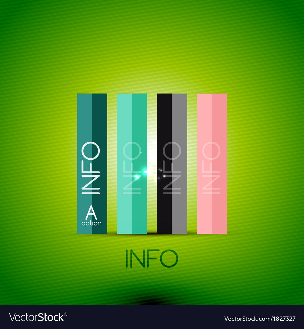 Color bright glossy lines - banner templates vector   Price: 1 Credit (USD $1)