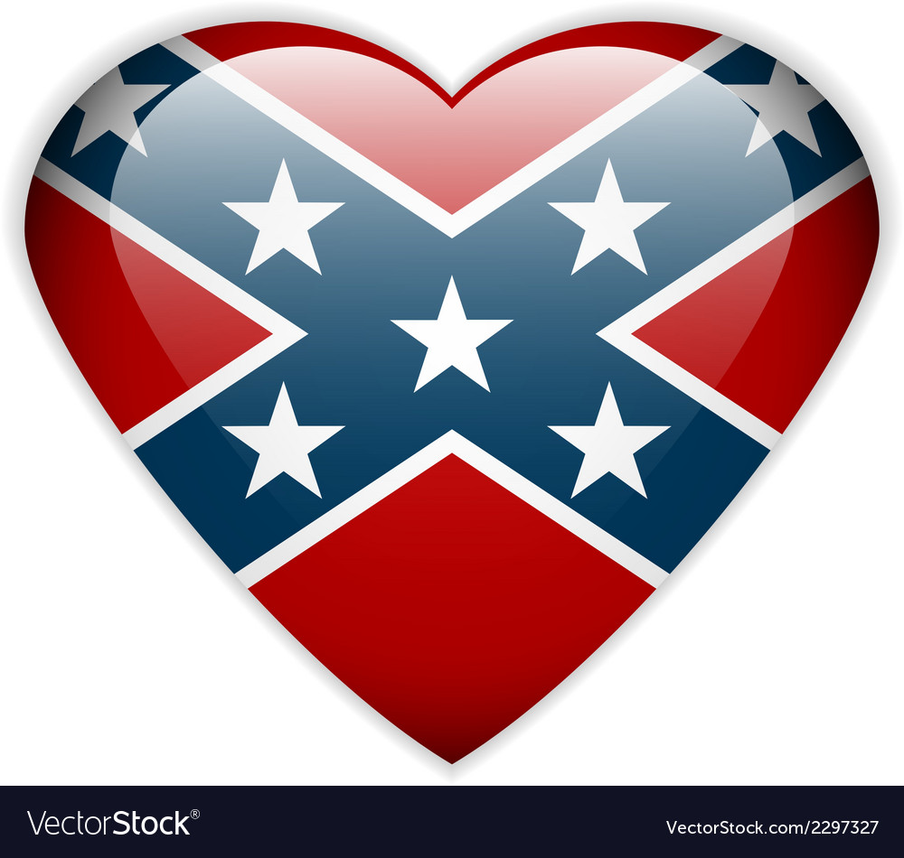 Confederate flag vector | Price: 1 Credit (USD $1)