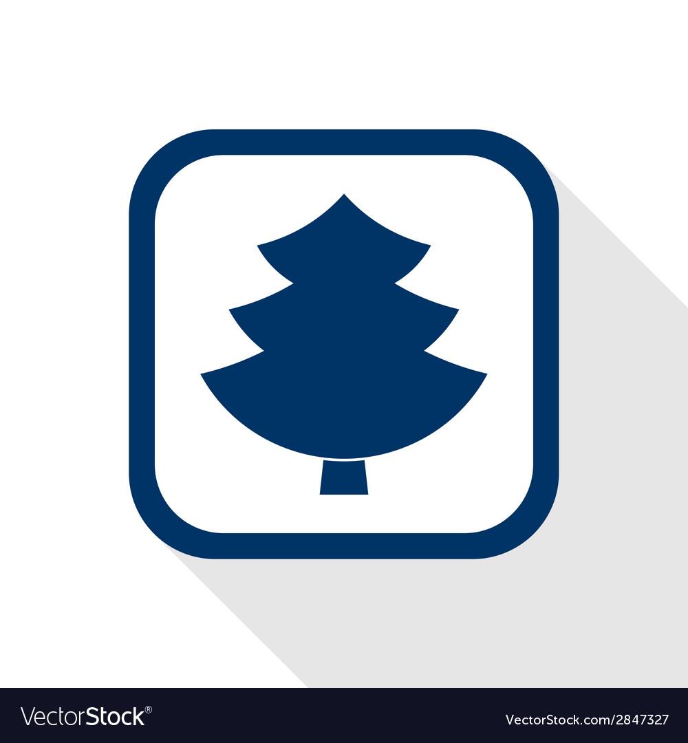 Tree flat icon vector | Price: 1 Credit (USD $1)