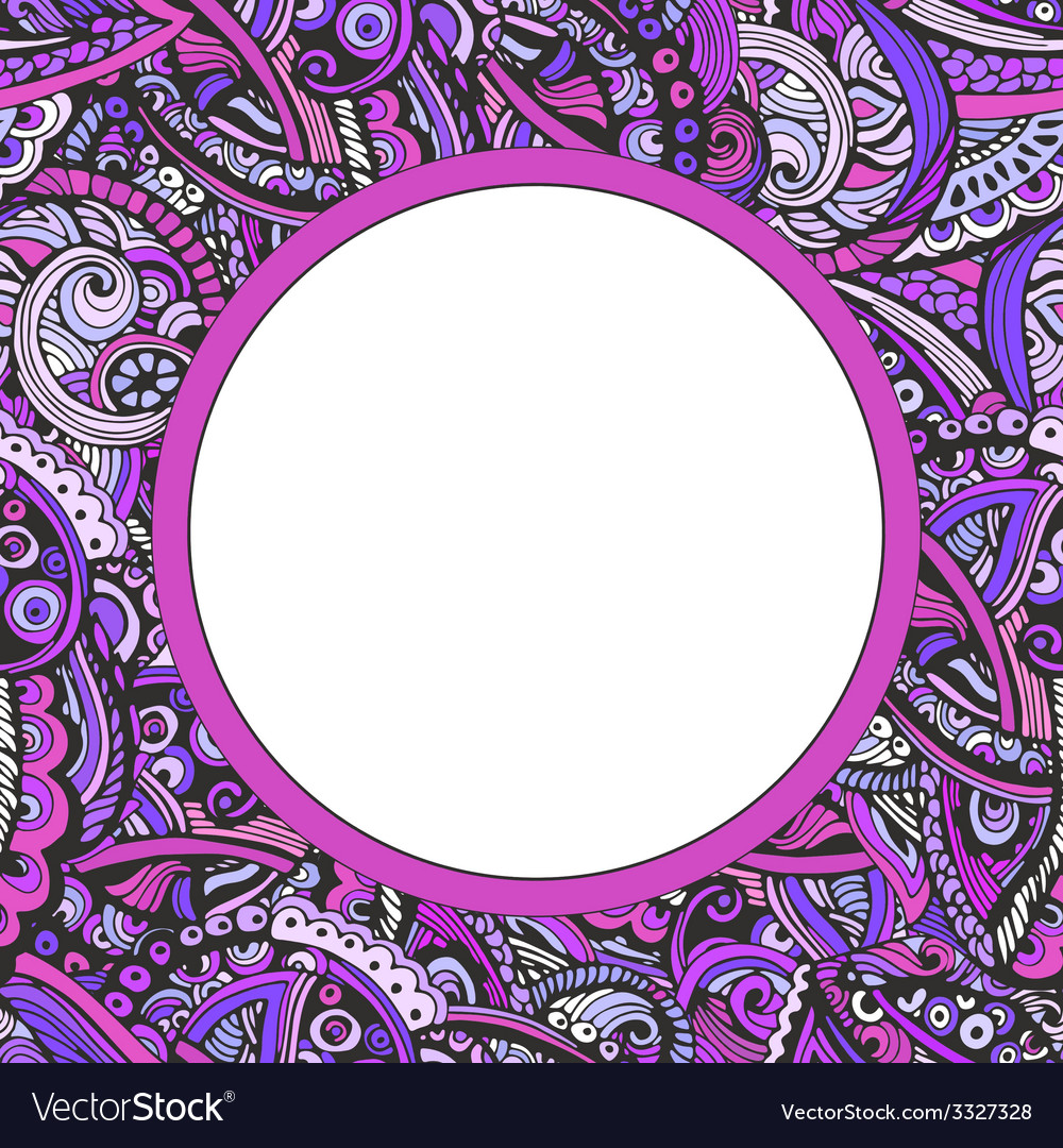 Abstract frame for your text made in vector   Price: 1 Credit (USD $1)