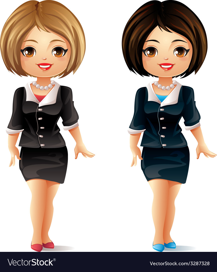 Business lady vector | Price: 3 Credit (USD $3)