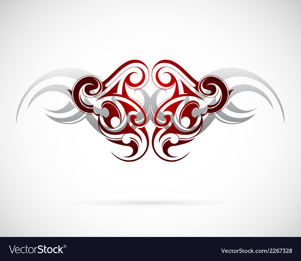 Ethnic tattoo design vector | Price: 1 Credit (USD $1)