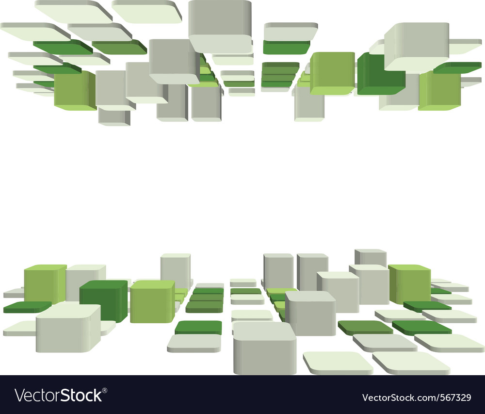 Abstract 3d business background vector | Price: 1 Credit (USD $1)