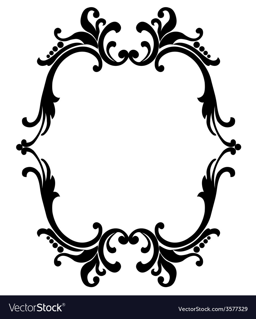 Black frame vector | Price: 1 Credit (USD $1)