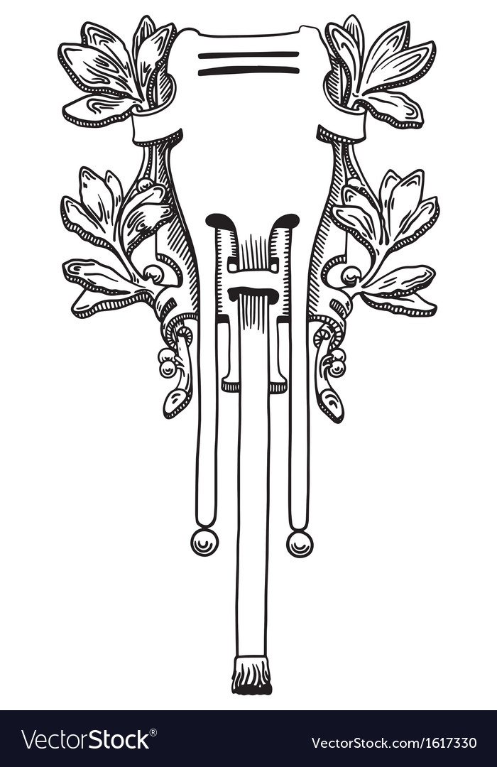 Decorative element of the facade vector   Price: 1 Credit (USD $1)