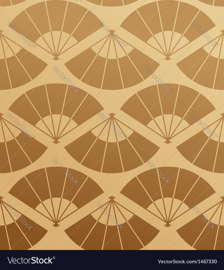 Elegant japan fan seamless pattern vector | Price: 1 Credit (USD $1)