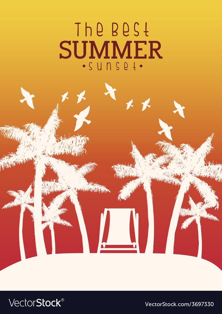 Summer vacations vector   Price: 1 Credit (USD $1)