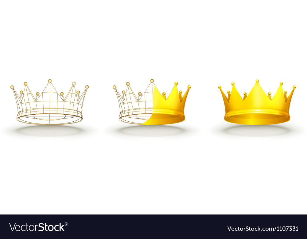 Crown vector | Price: 3 Credit (USD $3)