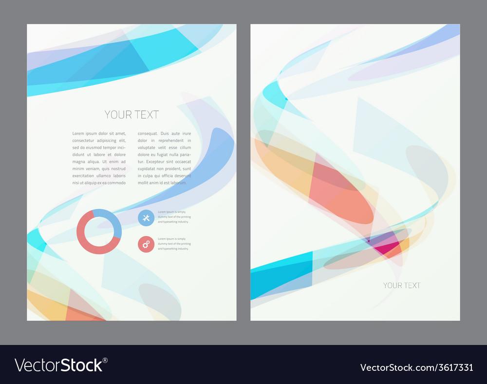 Flyer design template vector | Price: 1 Credit (USD $1)