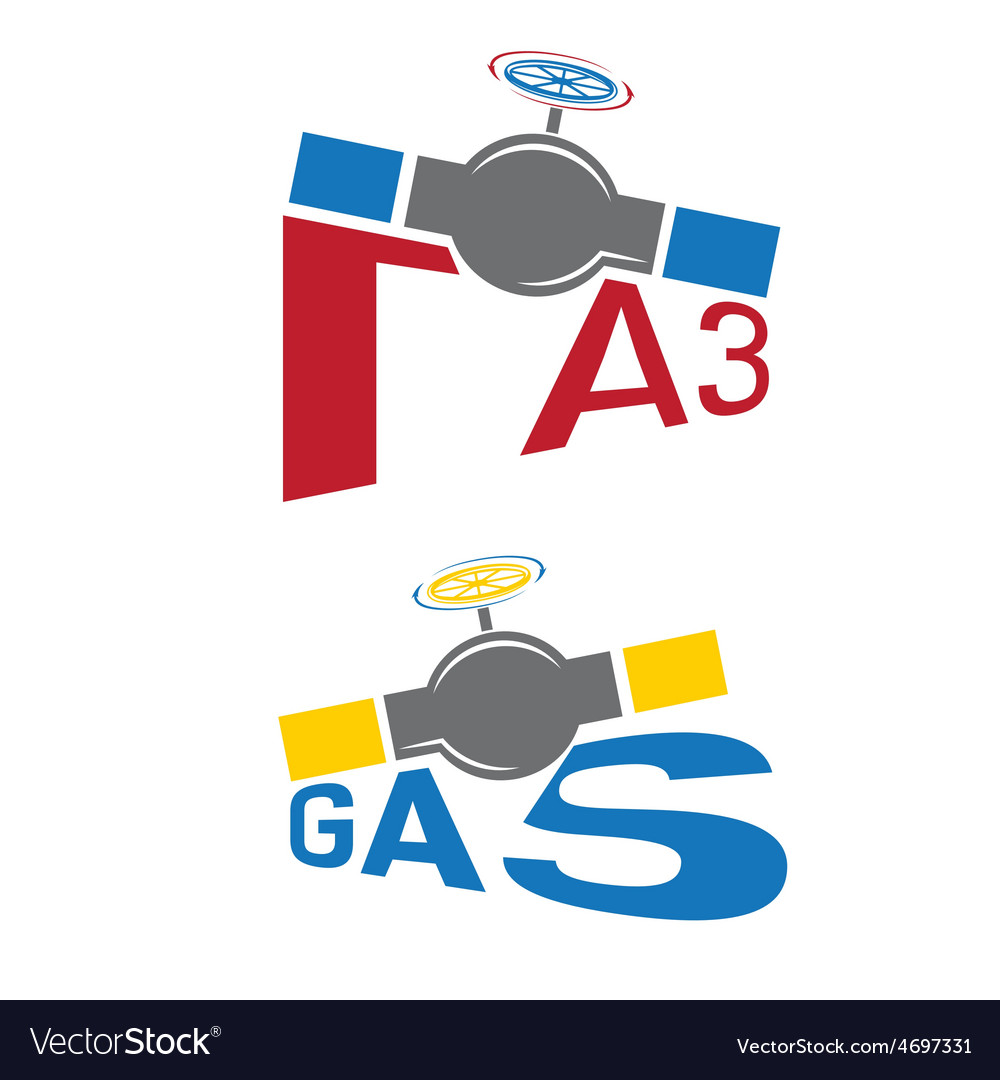 Gas industry vector | Price: 1 Credit (USD $1)