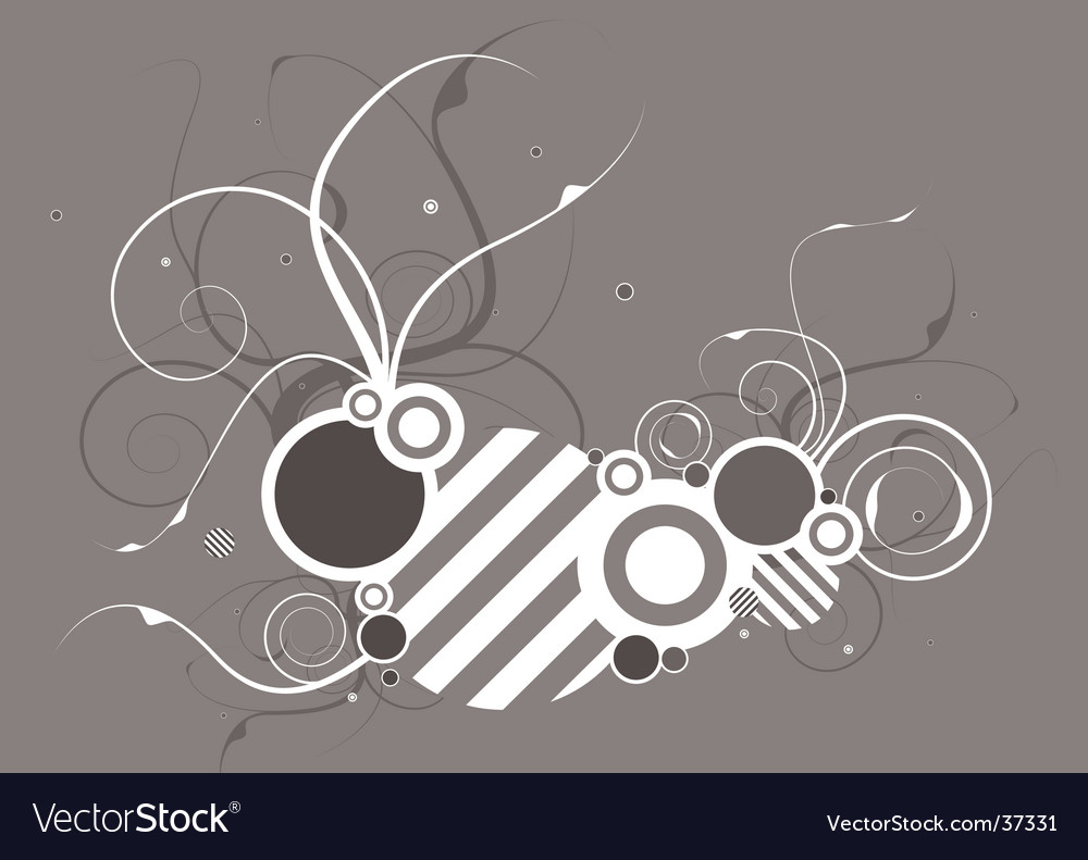 Hash floral vector | Price: 1 Credit (USD $1)