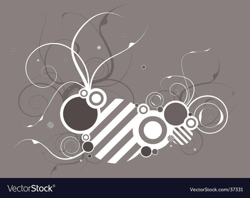 Hash floral vector | Price: 1 Credit (USD $1)