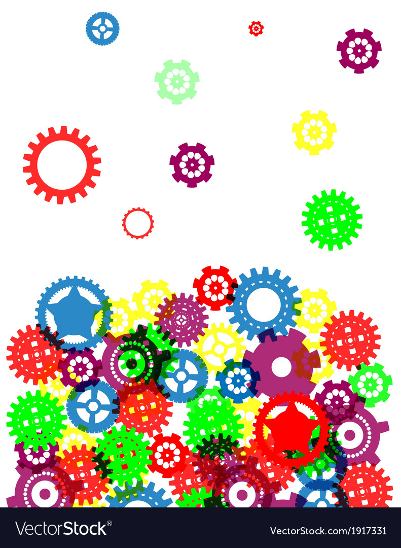 Industrial abstract colorful background design vector | Price: 1 Credit (USD $1)