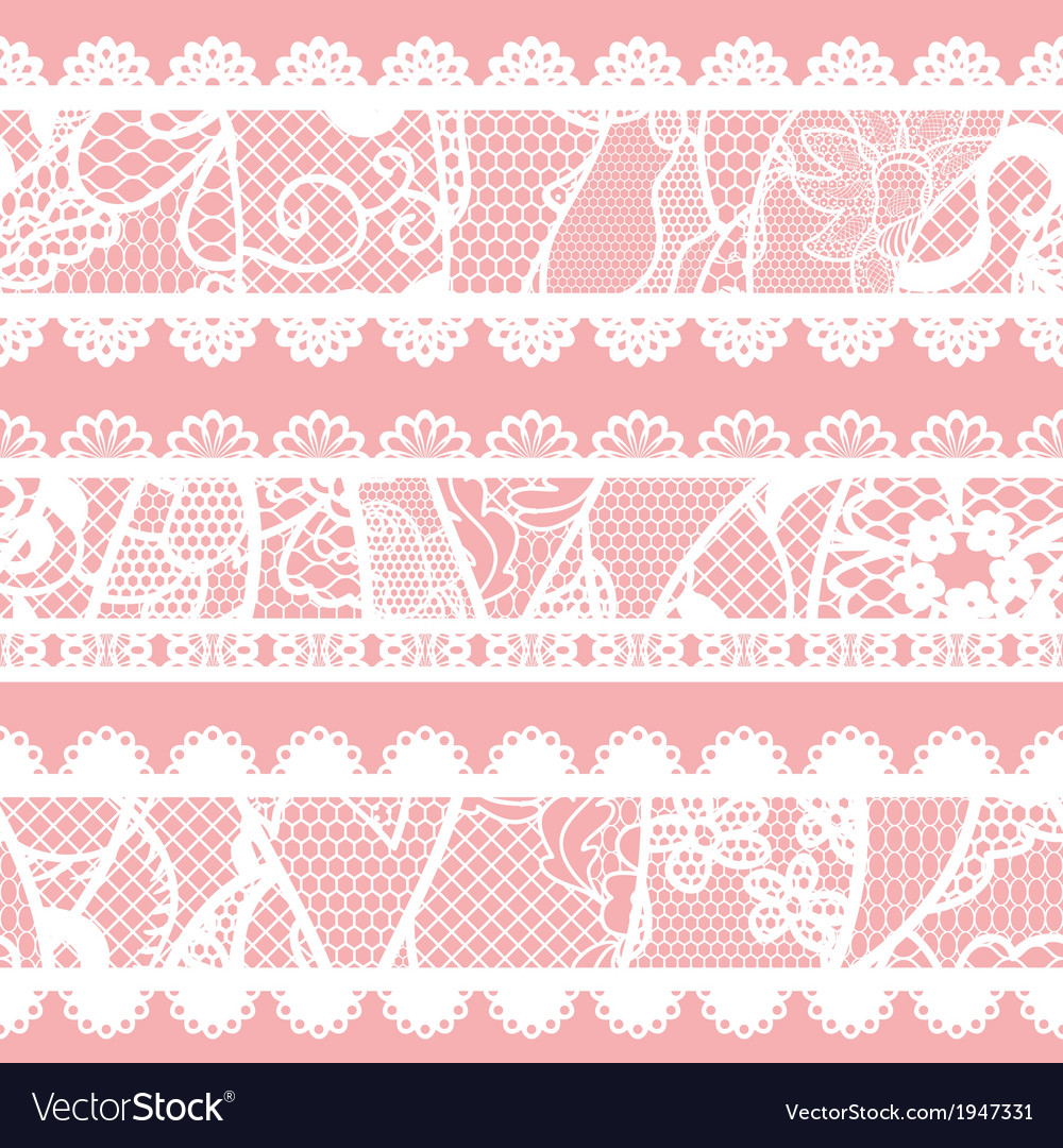 Set of lacy vintage trims vector | Price: 1 Credit (USD $1)