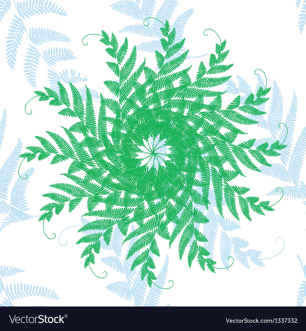 Branches and leaves star vector | Price: 1 Credit (USD $1)