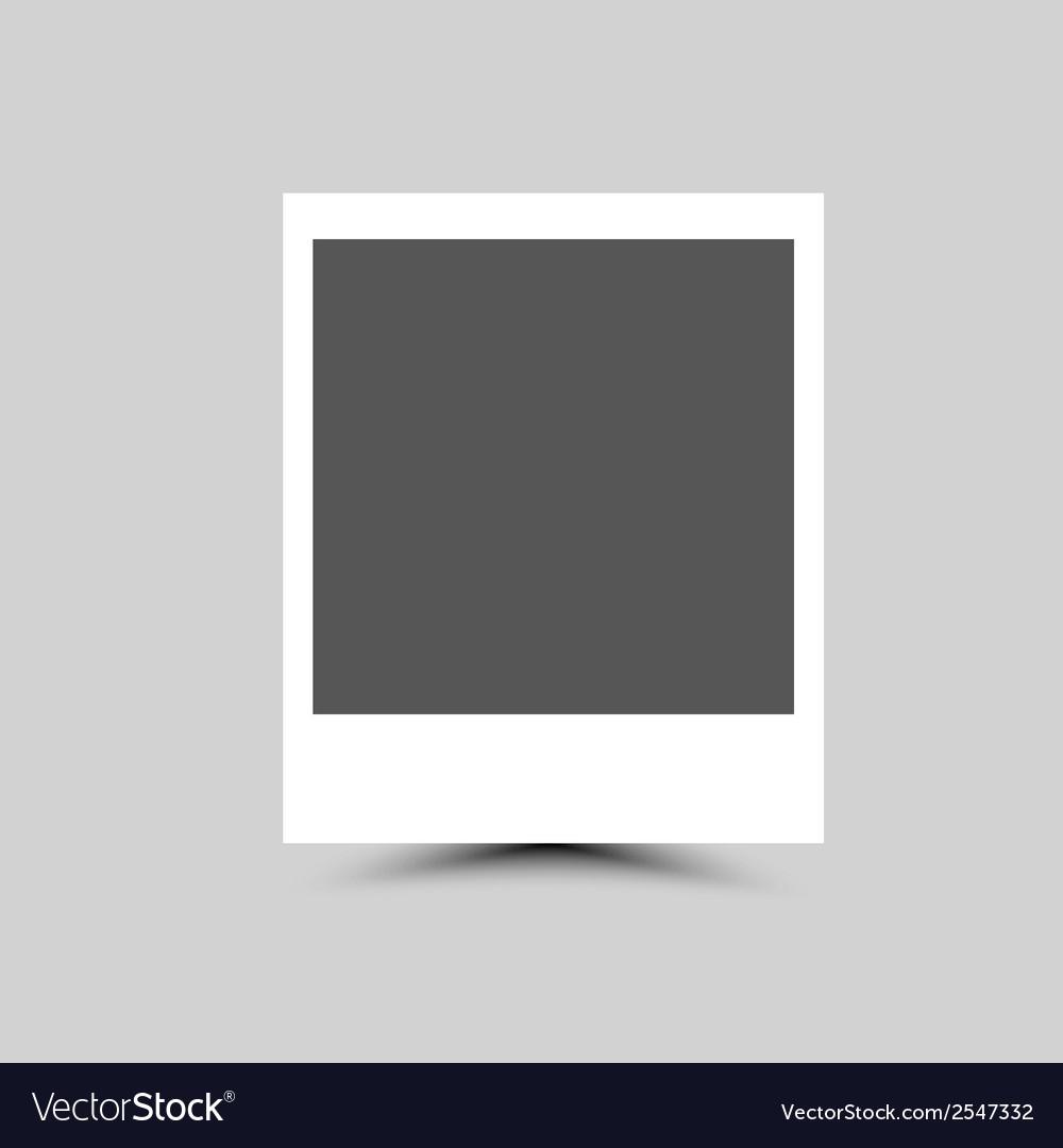 Empty photo blank vector | Price: 1 Credit (USD $1)