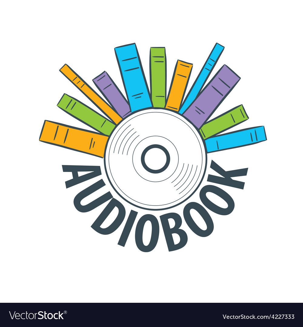 Logo are many books on cd vector | Price: 1 Credit (USD $1)
