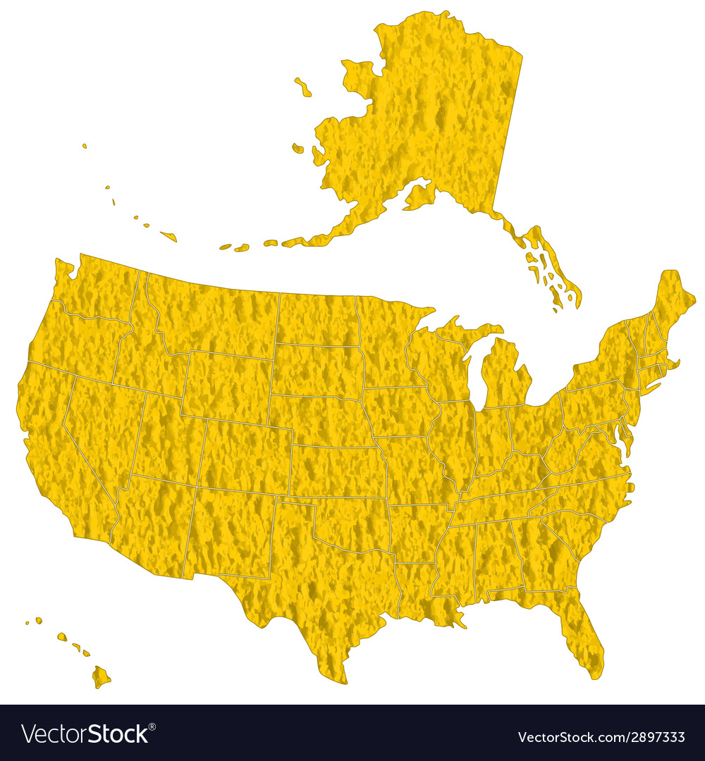 Textured map of usa vector | Price: 1 Credit (USD $1)