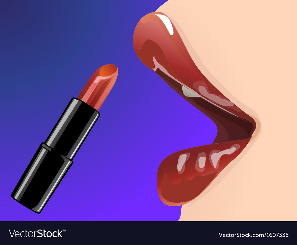 Lip 01 vector | Price: 1 Credit (USD $1)