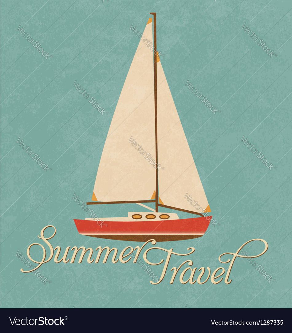Summer travel vector   Price: 1 Credit (USD $1)