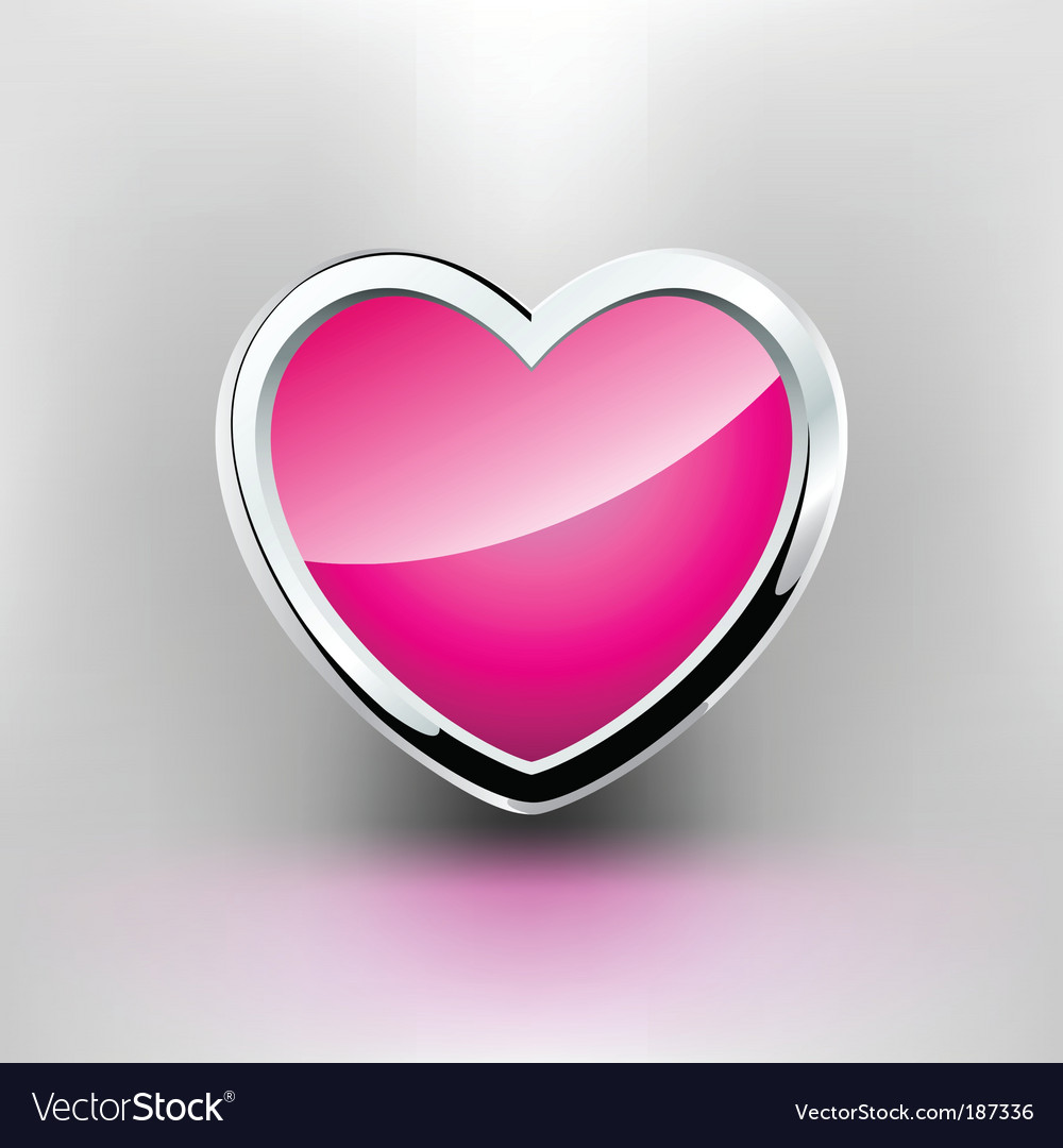 Steel heart vector | Price: 1 Credit (USD $1)