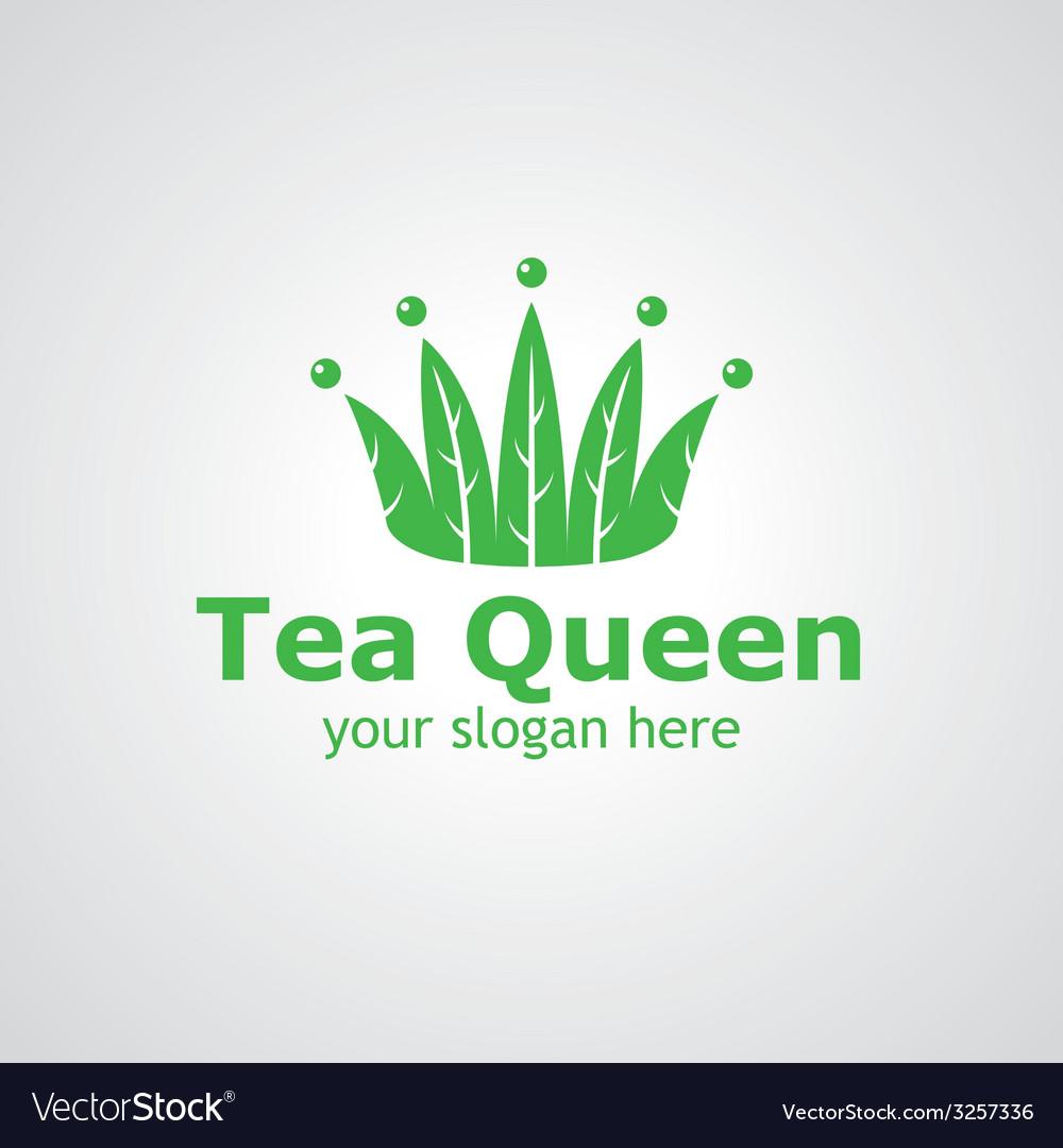 Tea queen vector | Price: 1 Credit (USD $1)
