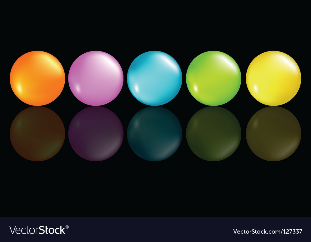 Buttons coloured vector | Price: 1 Credit (USD $1)