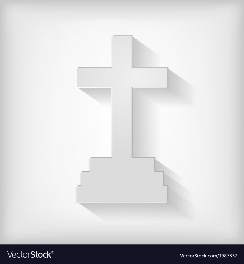 Cross icon gray vector | Price: 1 Credit (USD $1)